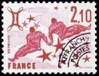 "FRANCE PREOBLITERE TIMBRE STAMP N°157 ""SIGNE DU ZODIAQUE, GEMEAUX "" NEUF xx TTB"