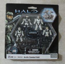 ** HALO Mega Bloks UNSC ARTIC Combat Unit SET, NEW & SEALED PACK 96858 Construx