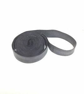 """27"""" INCH BICYCLE BIKE RUBBER RIM STRIP FOR  27 X 1 1/4"""" WHEEL 12MM WIDE NEW"""