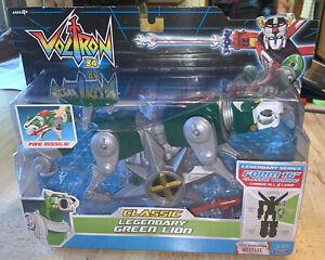Voltron 84 Classic Green Lion Action Figure Legendary Defender NEW Playmates