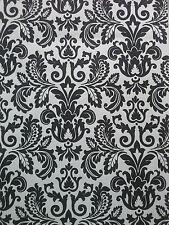 Store store avec treuil noir / Blanc Ornement 60x190 cm