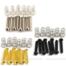 Pickup/Switch Screws/Springs for Fender Stratocaster/Strat® #6-32 Single Coil