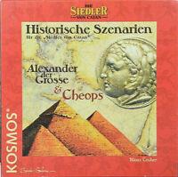 Die Siedler von Catan Historische Szenarien Alexander der Grosse & Cheops