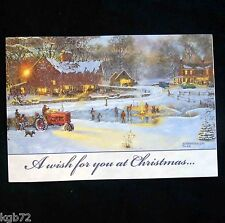 Leanin Tree Christmas Greeting Card Christmas Village Multi Color C38