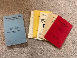 National Building Code of Canada, 1970 - Includes Numerous Supplements