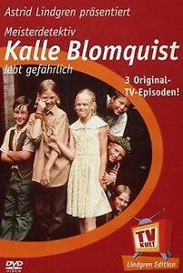 Lindgren-Edition: Meisterdetektiv Kalle Blomquist lebt ge... | DVD | Zustand gut