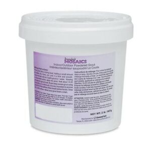 Jennifer's Mosaics Indoor/Outdoor Powdered Grout White