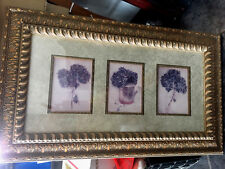 3 in 1 frame Hydrangers one in watercan beautiful engraved wide frame/