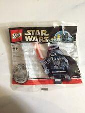 LEGO Star Wars 4547551 Chrome Darth Vader Minifigure Polybag sw218 NEW SEALED