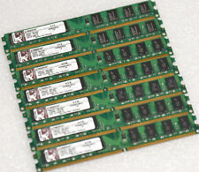2GB DDR2 RAM MODULE KINGSTON KVR800D2N6/2G 800MHZ LOW PROFILE MEMORY #S161