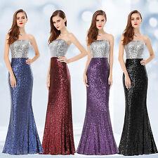 Ever Pretty Elegant Sequins Long Evening Formal Ball Gowns Mermaid Dress 08372