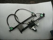 Peugeot 206cc LEFT Side front Electric Window linkage and Motor