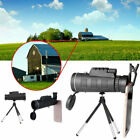 40 X 60 Monocular Starscope Zoom Lens Clear Day&Night Vision Telescope Tool US