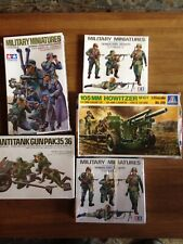 Military Miniatures (Lot Of 5) Boxes 1/35 Scale German Army Tamiya New 👨‍🚀