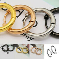 Unisex Titanium Steel Round Earrings Anti-allergy Simple Circle Ear Ring Gift