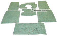 CLASSIC MG MIDGET Carpet Felt Kit For Sound Proofing FROM 1964 TO 1979