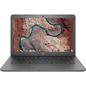 "Hewlett Packard Chromebook 14"" Intel Celeron N3350 4GB RAM 32GB Laptop 14-ca000n"