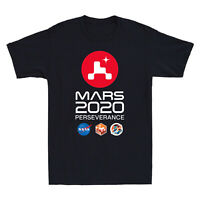 NASA SPACE Mars Rover Perseverance 2020 Graphic Men's Short Sleeve T-Shirt Tee