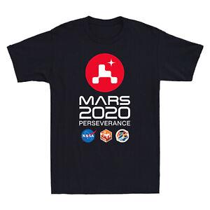 NASA SPACE Mars Rover Perseverance 2020 Graphic Men's Short Sleeve T-Shirt Tee
