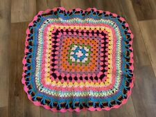 30x30 New Handmade Crochet Baby Blanket Afghan Nursery Decor Crib Bedding Uniq