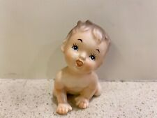 Vintage Napco Crawling Baby Figurine C4909S Japan Bisque Porcelain 3� tall