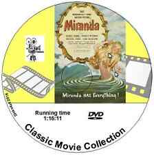 Miranda - Glynis Johns, Googie Withers, Margaret Rutherford Comedy Film DVD 1948