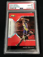 2004 Finest Red Xfractor #8 KOBE BRYANT PSA 10 Los Angeles Lakers 85/99 POP 8