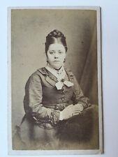 Vintage Victorian Carte De Visite CDV Photo - Hood - London - Lady
