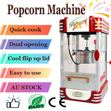 Popcorn Machine Large Popper Popping Classic Cooker Microwave Party Popper Maker