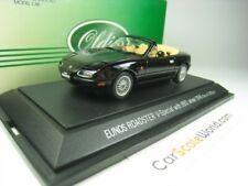MAZDA MX5 EUNOS ROADSTER V-SPECIAL (NA) WITH BBS WHEELS 1996 1/43 EBBRO (BLACK)