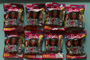 Lot 8 BARBIE CAREER Mini Dolls Figurines You Can Be Anything Blind Bags New Seal