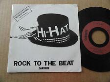 "DISQUE  45T  DE  HI-HAT  "" ROCK TO THE BEAT """