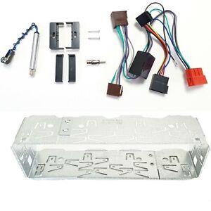 Marco de Radio Set Para Audi Tt 8N Incl. Metal Sistema Activo Cable Adaptador