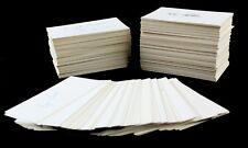 Enormous Lot 1950s Cup-of-Coffee Players- Played 1 Game - Signed 3x5 Index Cards