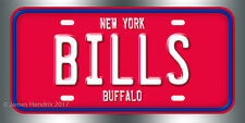 Buffalo Bills Football NFL  License Plate Vanity Auto Tag Fathers Day