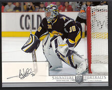 Ryan Miller 2006-07 Be A Player Portraits 8x10 Autograph Sabres