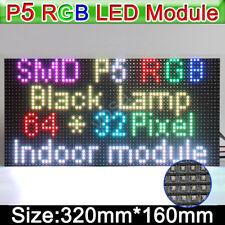 1x RGB P5 HD led screen display module 64x32 led display module dot matrix 5mm
