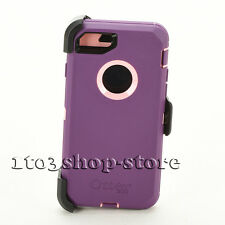 OtterBox Defender iPhone 7 Plus iPhone 8 Plus Case w/Holster Purple/Pink Used