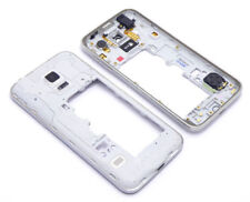 Samsung Galaxy S5 Mini G800 Mittelrahmen Cover Middleframe Gehäuse Housing Silve
