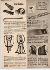 1956 PAPER AD Healthways Divair Skin Diving Equipment Lung Tanks
