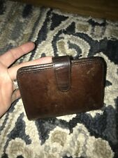 VINTAGE COACH LEATHER WALLET BIFOLD