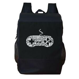 Gamer Backpack School Bag Travel Personalised Backpack