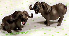 PETE APSIT Holy Herd Noah's Ark - 2 Water Buffalo Figurines (Buffaloes)