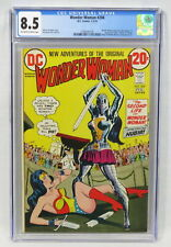DC Comics Wonder Woman #204 CGC 8.5 1st Appearance Nubia & I Ching Death 1973