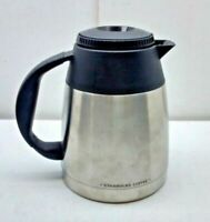 Starbucks Barista Quatro BA4 Stainless Steel Thermos Pot Coffee Carafe ONLY