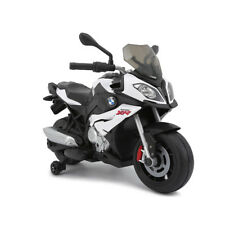 Moto motocicletta elettrica per bambini 12V BMW S1000XR luci velocità 4,5km/h