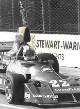 Chris Amon  Ensign  US GP West 1976  D.P.P.I  Original Press Period Photograph