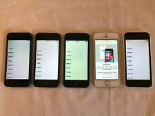 Lot of 5 iPhone 5 5s 5c Refurbished