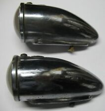 PAIR LUCAS 1130 FENDER LAMPS ROLLS ROYCE BENTLEY 1920s - 1930s