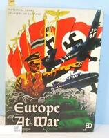 Europe at War Historical Series Jedko Games 1985 Punched EW3-C5